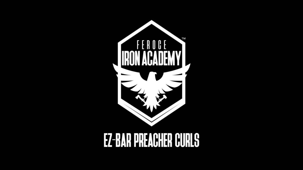 EZ-Bar Preacher Curls