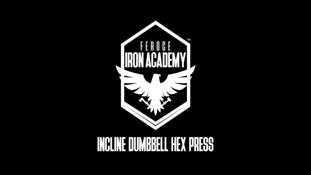 Incline Dumbbell Hex Press