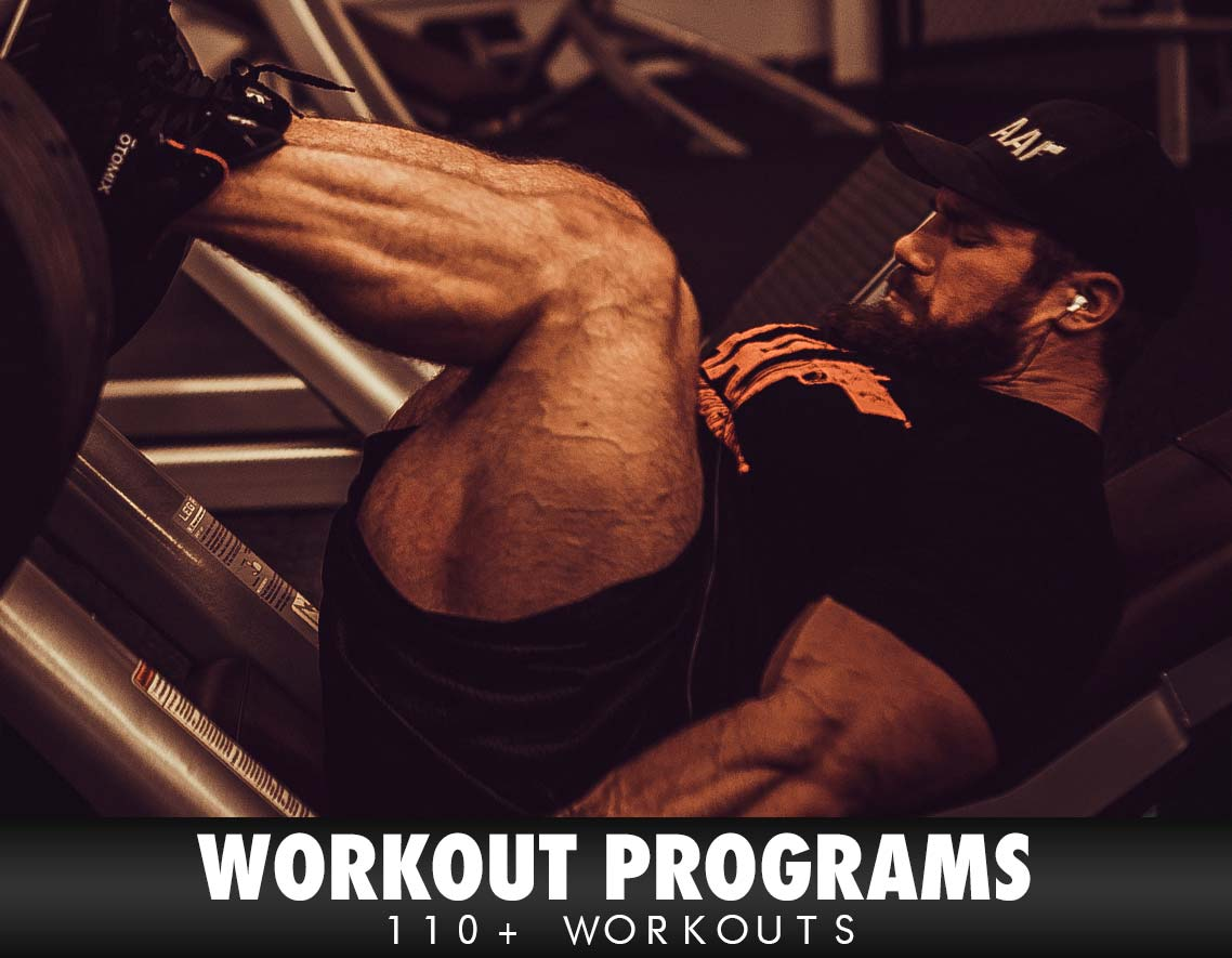 Over 110 Workouts!