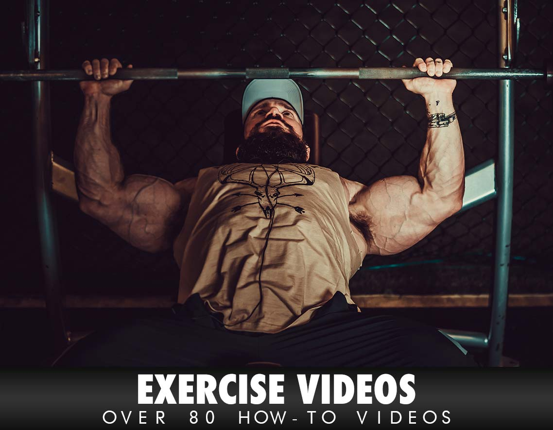 Over 80 How-to Exercise Videos!